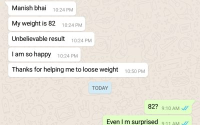 7 Kg in 13 Days, That's new for us too, Sometimes even we surpass our expectations