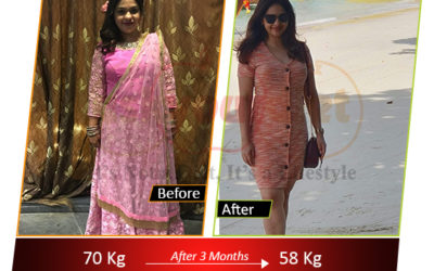 Weight loss story: This girl lost 12 Kilos in Just 3 Months. Know her story.