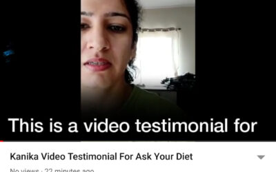 Kanika Video Testimonial For Ask Your Diet: Kanika Weight Loss Story In Her Own Words