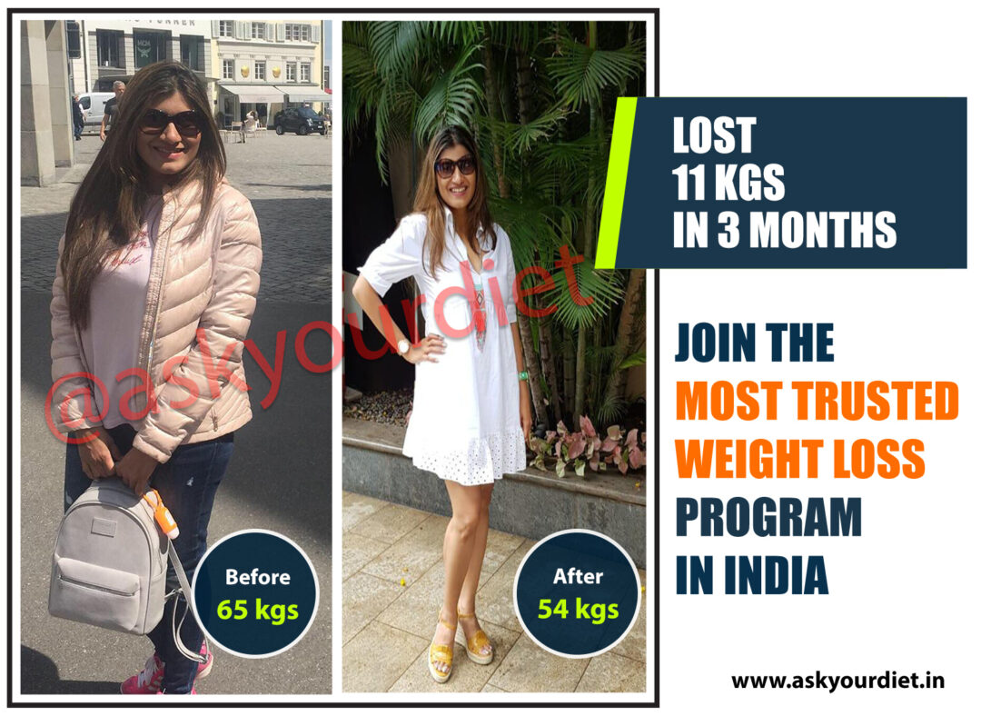 This 42-year-old girl from USA lost a whopping 11 kilos in only 3 months just by tweaking his dietary habits without working out.